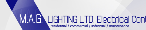 M.A.G. LIGHTING LTD. Electrical Contractor / Canada - Toronto